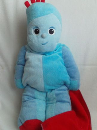 Adorable Big 'My 1st Igglepiggle & his Red Blanket' Plush PJ Case Toy